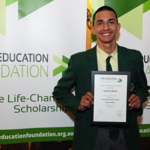 Issaraha Braun Public Education Foundation scholarship recipient
