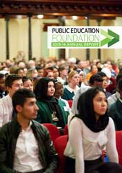 Public Education Foundation Annual Review 2013-14