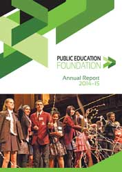 Public Education Foundation Annual Review 2014-15