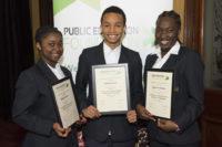 PEF Scholarship winners