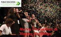 Public Education Foundation Merry Christmas 2017